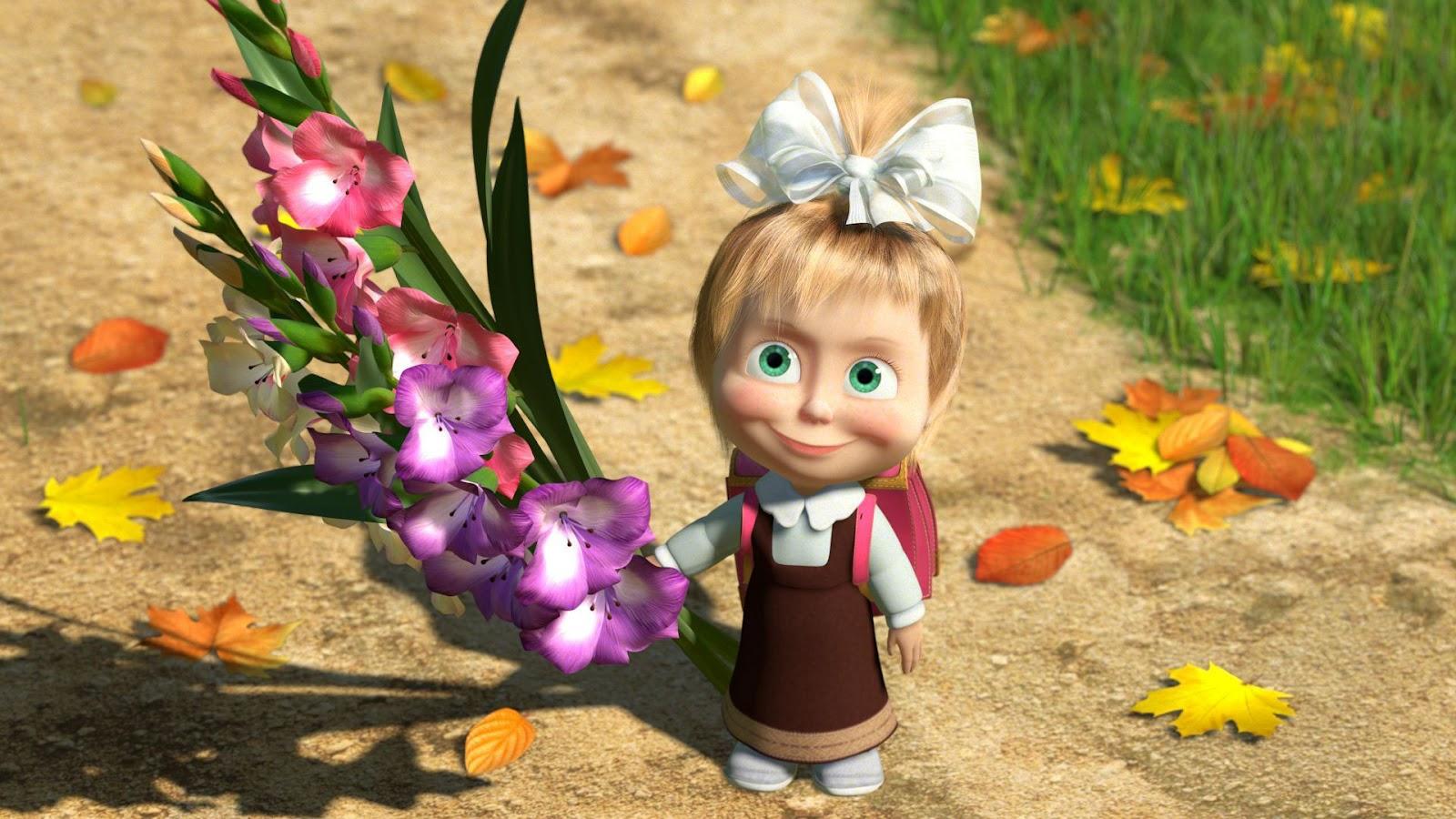 Я знаю, какие цветы он любит!