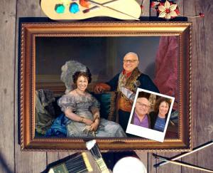 Портрет родителей в подарок на золотую свадьбу