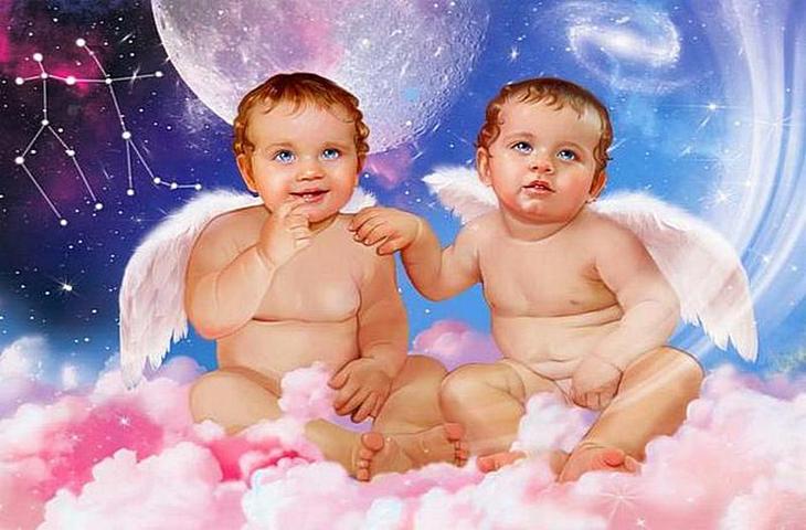 Открытки мальчиков близнецов, картинку про музыкальная